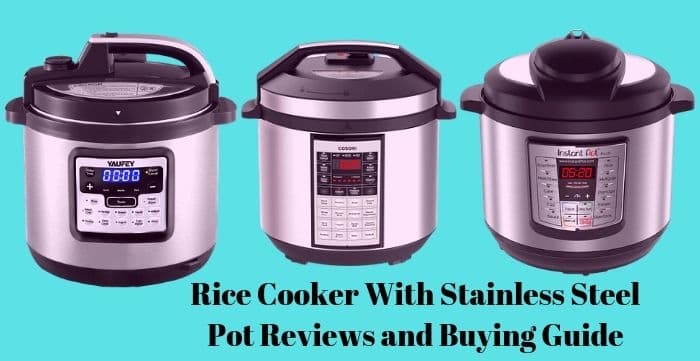 Rice Cooker With Stainless Steel Pot