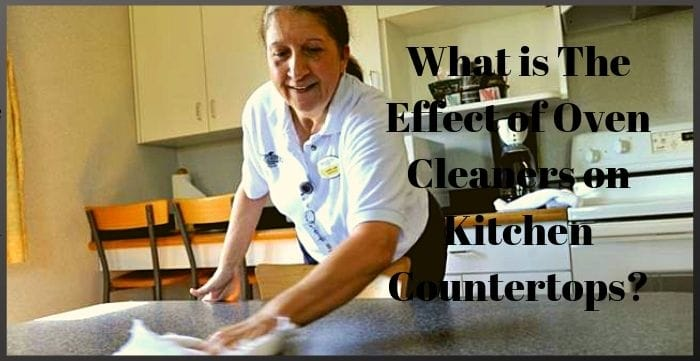 Oven Cleaners On Kitchen Countertops