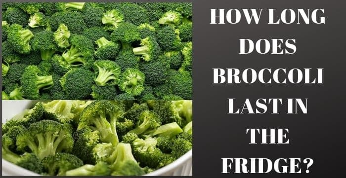 : how long does cooked broccoli last in the fridge
