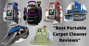 best portable carpet cleaner