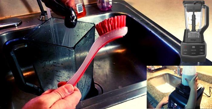 Ninja BL770 Mega Kitchen System Cleaning