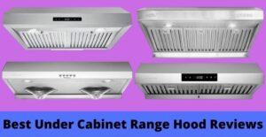 bestunder cabinet range hood