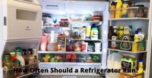 how often should a refrigerator run