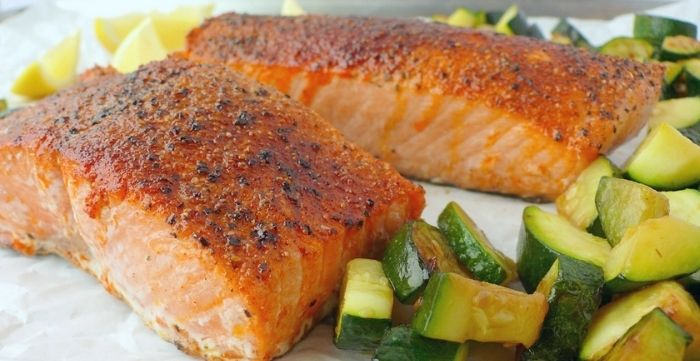 how long do I cook salmon in air fryer