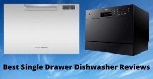 single drawer dishwasher
