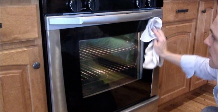 cleaning the oven is just not enough