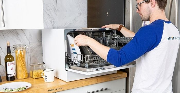 how do countertop dishwashers work