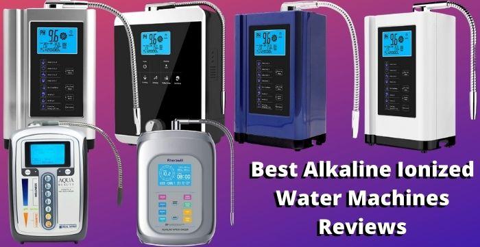 alkaline ionized water machines
