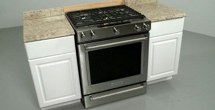 how to install a gas range in your kitchen