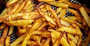 how long to cook french fries in air fryer