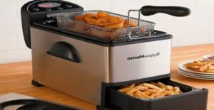 how to use an electric deep fryer
