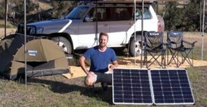 what is the best solar panel for camping