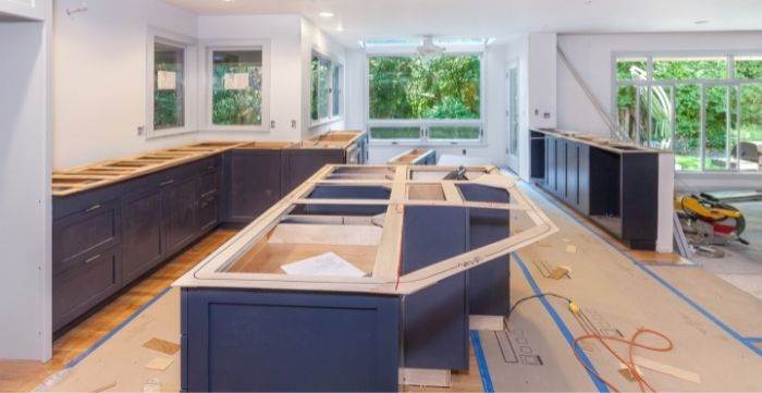most expensive parts of a kitchen renovation